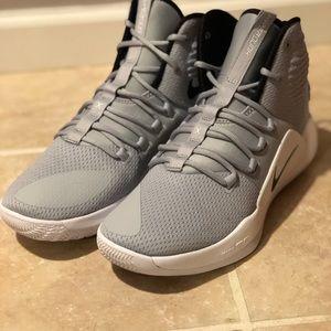 Nike Hyperdunk X TB Grey White Basketball Shoes